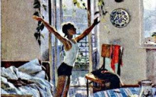 Чурлёнис «утро» описание картины, анализ, сочинение