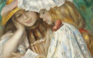 Ренуар пьер «большие купальщицы» описание картины, анализ, сочинение