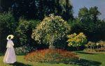 Моне клод «жанна-маргарита лекадр в саду» описание картины, анализ, сочинение