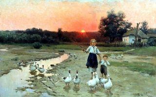 Пимоненко николай «жатва на украине» описание картины, анализ, сочинение