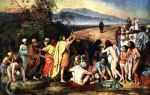 Иванов александр «явление христа народу» описание картины, анализ, сочинение