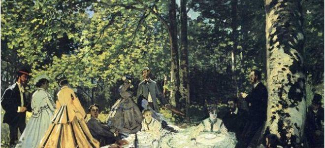 Мане «завтрак на траве» описание картины, анализ, сочинение