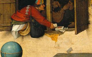 Брейгель «фламандские пословицы» описание картины, анализ, сочинение