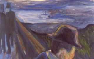 Мунк «у смертного одра» описание картины, анализ, сочинение
