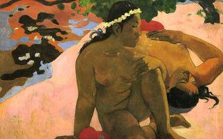 Гоген поль «таитянки» описание картины, анализ, сочинение