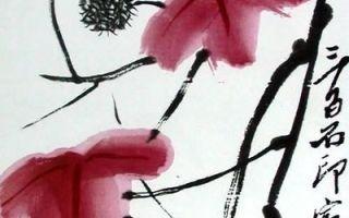 Байши «холодная ночь» описание картины, анализ, сочинение