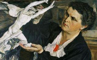 Нестеров «портрет веры мухиной» описание картины, анализ, сочинение