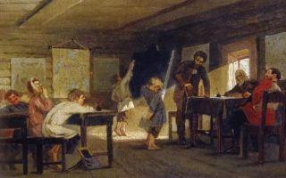 Богданов-бельский «у дверей школы» описание картины, анализ, сочинение