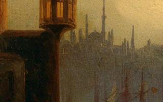 Айвазовский «вид леандровой башни в константинополе» описание картины, анализ, сочинение