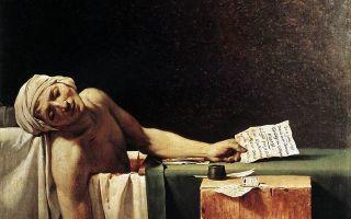 Давид жак луи «смерть марата» описание картины, анализ, сочинение