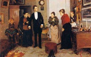 Маковский владимир «первый фрак» описание картины, анализ, сочинение