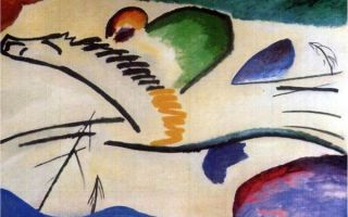 Кандинский «пляжные корзины в голландии» описание картины, анализ, сочинение