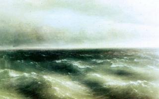 Айвазовский иван «тонущий корабль» описание картины, анализ, сочинение