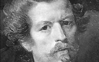 Брюллов карл «гений искусства» описание картины, анализ, сочинение