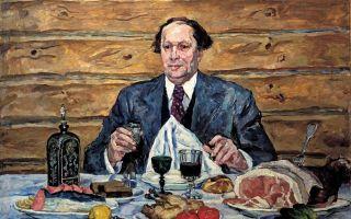 Кончаловский петр «а.н. толстой в гостях у художника» описание картины, анализ, сочинение
