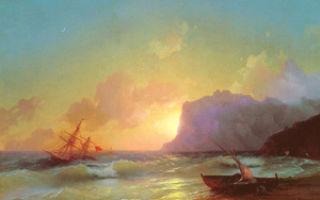 Айвазовский «море. коктебель» описание картины, анализ, сочинение