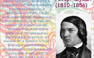 Р. шуман «любовь поэта»: история, видео, содержание, интересные факты