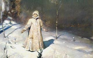 Васнецов «снегурочка» описание картины, анализ, сочинение