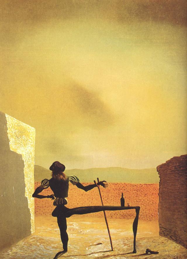 Дали «Жираф в огне» описание картины, анализ, сочинение