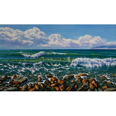 Айвазовский «Вечер на море» описание картины, анализ, сочинение